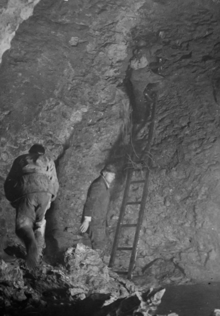 anni '38-39 Sala della Cascata (foto di Gastone Trevisiol, archivio GGT)