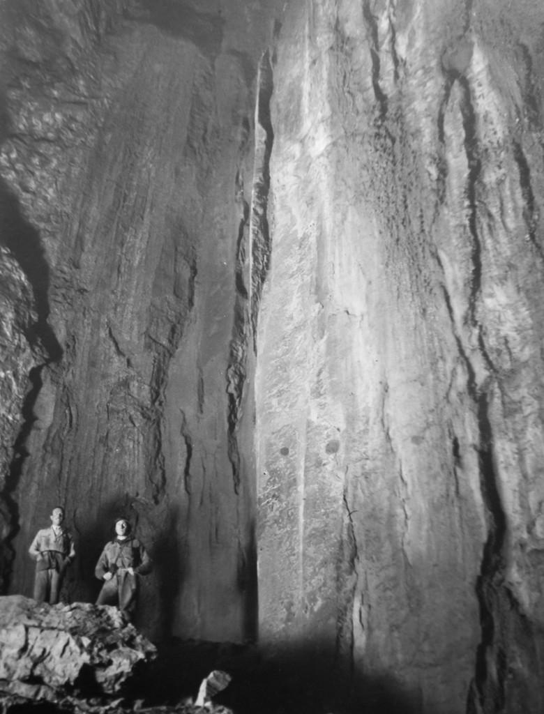 Androne Terminale anni '38-39 (foto di Aldo Allegranzi, archivio GGT)