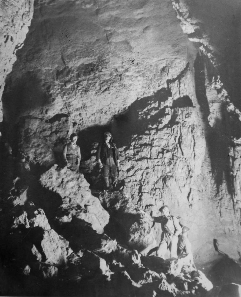 Ramo Principale anni '38-39 (foto di Aldo Allegranzi, archivio GGT)