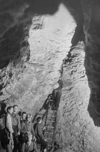 27/02/1955 Sala della cascata (archivio GGT)