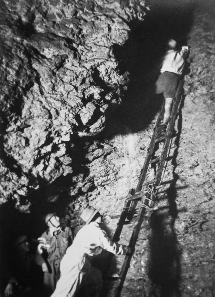 1938 Sala della Cascata (foto di A. Allegranzi, archivio GGT)