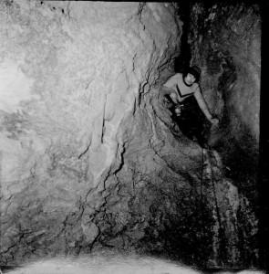 Prime esplorazioni al Ramo delle Cascate (foto Enrico Gleria)