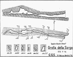 Rilievo Grotta della Sorgente