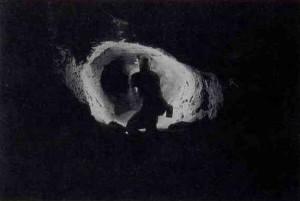 Il Ramo Nero oltre il sifone: diramazione a condotta forzata (foto Da Meda M.)
