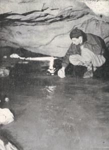 1956 Il lago del sifone completamente ghiacciato