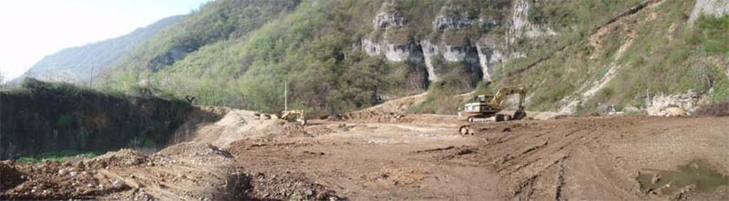 Lavori ex cava 13/04/2007
