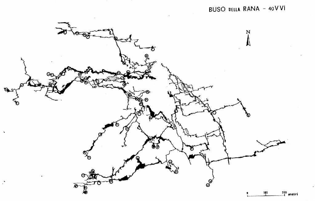Posizione camini in Rana (1985, Enrico Gleria)
