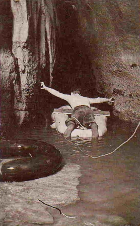 1948 Ramo Principale, Laghetto di Caronte (foto Luciano Giorgio Rossi, archivio GGS)